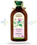 Green Pharmacy szampon do każdego rodzaju włosów przeciw wypadaniu Łopian większy 350 ml Elfa Pharm REALIZACJA ZAMÓWIEŃ W 1 DZIEŃ ROBOCZY Elfa Pharm