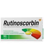 Rutinoscorbin 90 tabletek