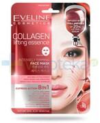 Eveline Collagen Lifting Essence silnie liftingująca kolagenowa maska anti-age na tkaninie 1 sztuka Eveline Cosmetics
