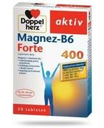 DoppelHerz Aktiv Magnez-B6 Forte 30 tabletek REALIZACJA ZAMÓWIEŃ W 1 DZIEŃ ROBOCZY Queisser Pharma