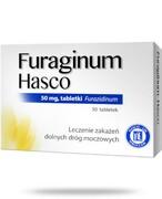 Furaginum Hasco 50 mg 30 tabletek Hasco