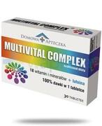 Domowa Apteczka Multivital Complex 30 tabletek REALIZACJA ZAMÓWIEŃ W 1 DZIEŃ ROBOCZY Domowa Apteczka