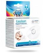 Canpol Babies EasyStart silikonowe osłonki na piersi rozmiar S 2 sztuki [18/602] 1000