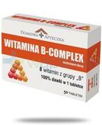 Domowa Apteczka Witamina B Complex 50 tabletek REALIZACJA ZAMÓWIEŃ W 1 DZIEŃ ROBOCZY Domowa Apteczka