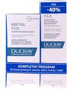 Ducray Kertyol PSO szampon o działaniu keratolitycznym 125 ml + krem o działaniu keratolitycznym 100 ml [ZESTAW] Ducray