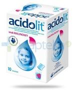 Acidolit smak malinowy proszek 10 saszetek Polpharma