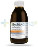 Herbion na kaszel 30mg/5ml, syrop 150 ml [Data ważności 31-01-2020] Krka Polska
