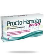 Procto-Hemolan Protect czopki przeciw hemoroidom 10 sztuk REALIZACJA ZAMÓWIEŃ W 1 DZIEŃ ROBOCZY Aflofarm