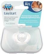 Canpol Babies osłonki na piersi silikonowe M/L standard 2 sztuki [18/603] 1000