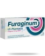 Furaginum US Pharmacia 50mg leczenie zakażeń dróg moczowych 30 tabletek USP Zdrowie