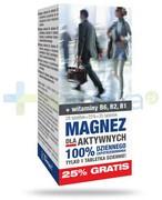 Magnez dla aktywnych 28 tabletek + 7 tabletek [GRATIS] REALIZACJA ZAMÓWIEŃ W 1 DZIEŃ ROBOCZY Farmapol