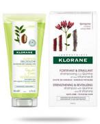 Klorane szampon z chininą 200 ml + żel pod prysznic woda yuzu 200 ml [ZESTAW] Klorane