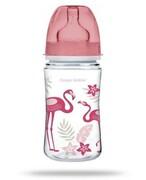 Canpol Babies EasyStart Jungle butelka szerokootworowa antykolkowa 240 ml [35/227_cor] 1000