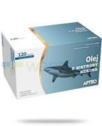 Apteo Olej z wątroby rekina 120 kapsułek REALIZACJA ZAMÓWIEŃ W 1 DZIEŃ ROBOCZY Apteo