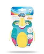 Canpol Babies Tropical Bird kubek niekapek żółty 240 ml [76/001_yel] 1000