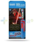Oral-B Stages Kids Gwiezdne Wojny szczoteczka elektryczna dla dzieci 3+ 1 sztuka + piórnik [ZESTAW] + 2 końcówki 1000
