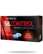 SilControl (Sildenafil 25 mg) lek na potencję 4 tabletki Alvogen