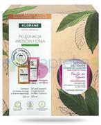 Klorane szampon na bazie wyciągu z drzewa egipskiego 200 ml + Klorane Liść figowy odżywczy żel pod prysznic z organicznym masłem Cupuacu 200 ml [ZESTAW] Klorane
