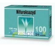Nifuroksazyd 100mg 24 tabletki powlekane HASCO REALIZACJA ZAMÓWIEŃ W 1 DZIEŃ ROBOCZY Zentiva