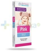 Domowe Laboratorium Pink test ciążowy płytkowy 1 sztuka Hydrex