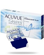 Soczewki kontaktowe Acuvue Oasys (6 soczewek) - zdjęcie 9