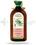 Green Pharmacy szampon do włosów tłustych u podstawy i suchych na końcach żeń-szeń 350 ml Elfa Pharm Elfa Pharm