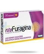 NeoFuragina 50mg leczenie zakażeń dróg moczowych 30 tabletek Teva Pharmaceuticals