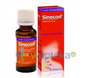 Sinecod krople 20ml REALIZACJA ZAMÓWIEŃ W 1 DZIEŃ ROBOCZY Novartis