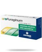 uroFuraginum 50mg leczenie zakażeń dróg moczowych 30 tabletek Adamed Grupa