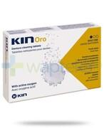 Kin Oro tabletki czyszczące do protez 30 sztuk REALIZACJA ZAMÓWIEŃ W 1 DZIEŃ ROBOCZY Kin