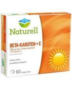 Naturell Beta-Karoten 0,1mg + 10mg witamina E 60 tabletek REALIZACJA ZAMÓWIEŃ W 1 DZIEŃ ROBOCZY USP Zdrowie
