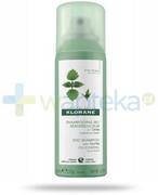 Klorane suchy szampon z wyciągiem z pokrzywy do włosów przetłuszczających się 50 ml REALIZACJA ZAMÓWIEŃ W 1 DZIEŃ ROBOCZY Klorane