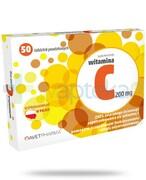 AvetPharma witamina C 200mg 50 tabletek REALIZACJA ZAMÓWIEŃ W 1 DZIEŃ ROBOCZY Avet Pharma