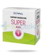 Donna Super tampony higieniczne 8 sztuk REALIZACJA ZAMÓWIEŃ W 1 DZIEŃ ROBOCZY Paso-Trading