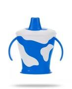Canpol Babies Krówka niebieski kubek niekapek dla dzieci 9m+ 250 ml [31/404_blu] 1000