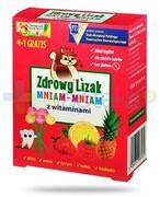 Zdrowy lizak Mniam-Mniam z witaminą C i D 5 sztuk REALIZACJA ZAMÓWIEŃ W 1 DZIEŃ ROBOCZY Starpharma