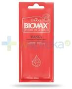 Biovax Opuntia Oil & Mango maska intensywnie regenerująca do włosów zniszczonych 20 ml Lbiotica
