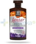 Farmona Jantar szampon rewitalizujący kolor włosy blond i siwe 330 ml Farmona