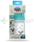 Canpol Babies EasyStart Jungle butelka szerokootworowa antykolkowa dla dzieci 0m+ 120 ml [35/226_blu] 1000