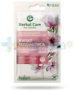 Farmona Herbal Care Kwiat migdałowca drobnoziarnisty peeling do twarzy i ust 2x 5 ml 1000