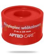 Przylepiec włókninowy 5m x 25mm Apteo Care czerwony Apteo