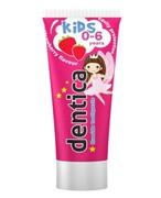 Dentica Kids pasta do zębów dla dzieci 0-6 lat smak truskawkowy 50 ml 1000