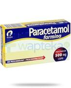 Paracetamol Farmina czopki 500mg 10 sztuk REALIZACJA ZAMÓWIEŃ W 1 DZIEŃ ROBOCZY Farmina