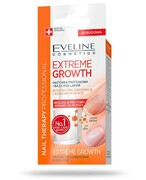 Eveline Extreme Growth odżywka proteinowa + baza pod lakier 12 ml Eveline Cosmetics