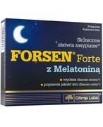 Olimp Forsen Forte z melatoniną 30 kapsułek