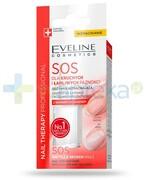 Eveline Nail Therapy SOS odżywka wzmacniająca z wapniem i kolagenem do paznokci 12 ml Eveline Cosmetics