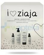 Ziaja Love You, Kozie mleko ultralekki krem SPF15 50 ml + mleczny koncentrat młodowści 50 ml + mleczny żel do mycia twarzy 200 ml + krzemionkowy micro-scrub 75 ml [ZESTAW] Ziaja