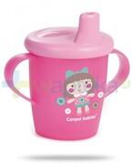 Canpol Babies Haberman dla canpol babies kubek niekapek dla dzieci 9m+ różowy lalka 250 ml [31/200] 1000