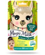 Eveline Magic Mask matująca maska w płacie 3D Llama Queen 1 sztuka Eveline Cosmetics