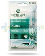 Farmona Herbal Care Aloes nawilżająca maseczka do twarzy 2x 5 ml 1000